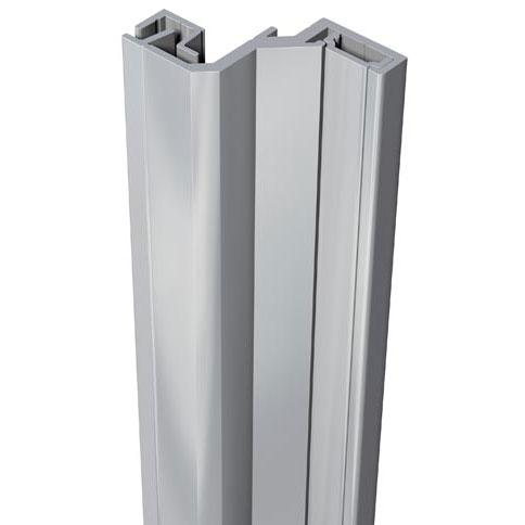 SecuStrip Anti-Inbraakstrip Style, Achterdeur, Grijs, 2150 mm, terugligging 21-23 mm