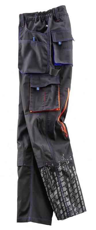 TERRAX WORKWEAR Werkbroek met Elastische tailleband voor Werk en Hobby, zwart, maat 54