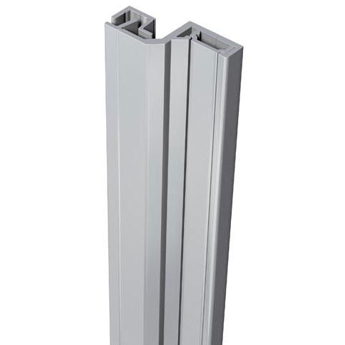 SecuStrip Anti-Inbraakstrip Style, Achterdeur, Grijs, 2500 mm, terugligging 6-8 mm