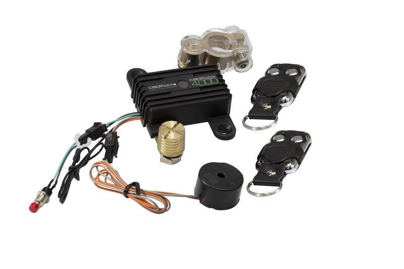 Batterij monitor met geïntegreerde anti-diefstal 4000