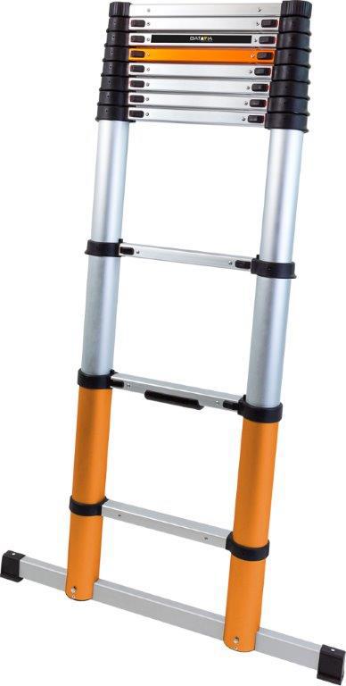 BATAVIA Telescopische ladder Giraffe Air, 3,25 m, inclusief extra dwarsbalk
