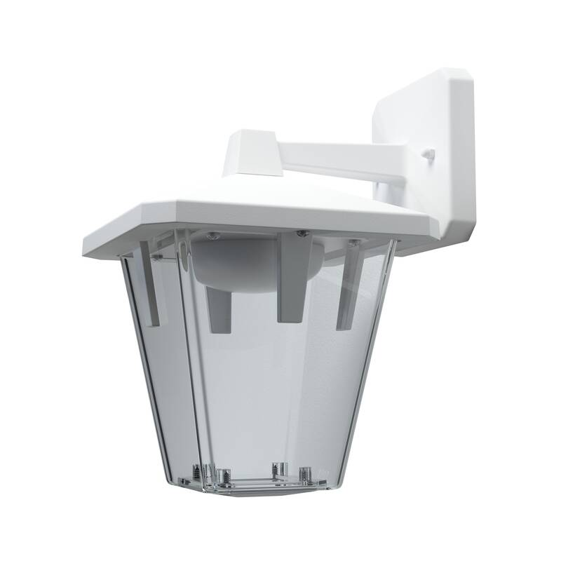 LED-lantaarn Classic Up 10 W IP 44 spatwaterdicht wit