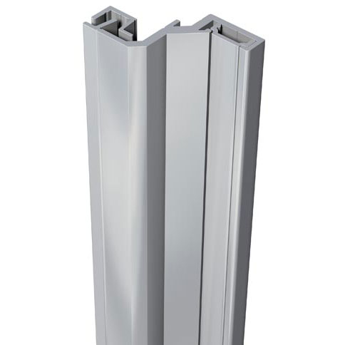 SecuStrip Anti-Inbraakstrip Style, Achterdeur, Grijs, 2150 mm, terugligging 18-20 mm