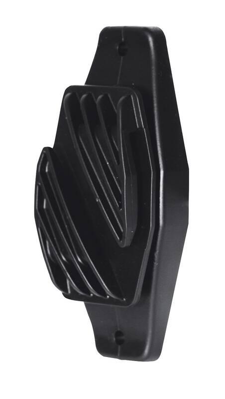 Schrikdraadlint isolator 40 mm zwart 10 stuks