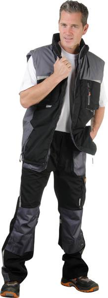 Werkbroek zwart/grijs maat 52