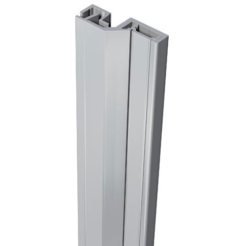 SecuStrip Anti-Inbraakstrip Style, Achterdeur, Grijs, 2150 mm, terugligging 3-5 mm