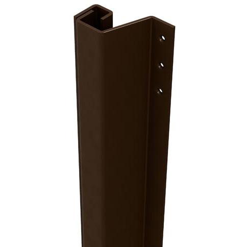 SecuStrip Anti-Inbraakstrip Plus, Achterdeur, Bruin, 2115 mm, terugligging 14-20 mm