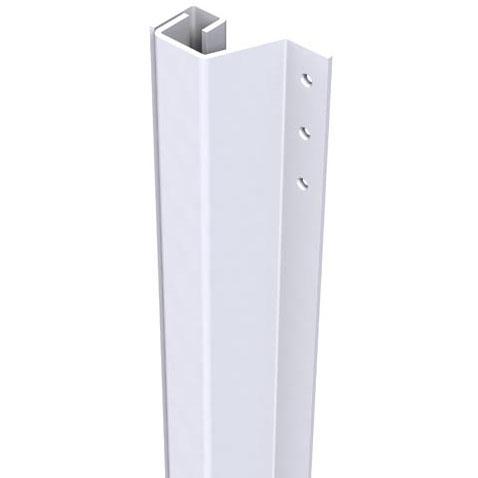 SecuStrip Anti-Inbraakstrip Plus, Achterdeur, Wit, 2300 mm, terugligging 21-27 mm