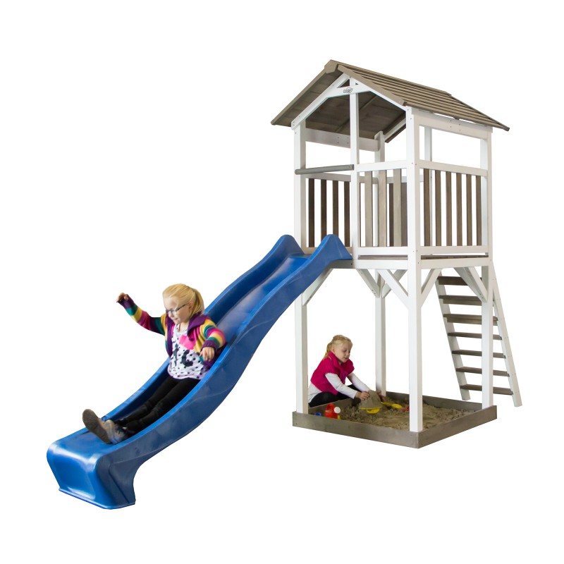 beach tower speeltoren met glijbaan