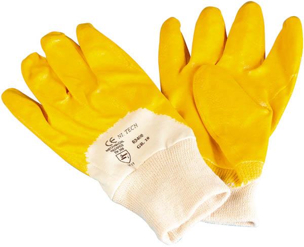 Westfalia Nitril werkhandschoenen maat 8 (dames) 3 paar