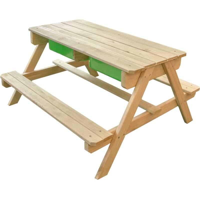 zand- en waterpicknicktafel Dual Top