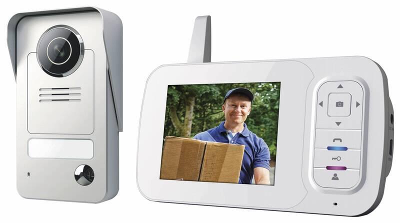 VD38W Draadloze video deurintercom met portable monitor tot 170 meter