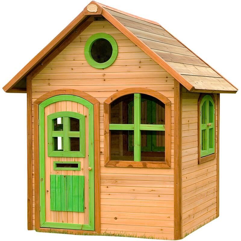 speelhuis Julia, hout/groen