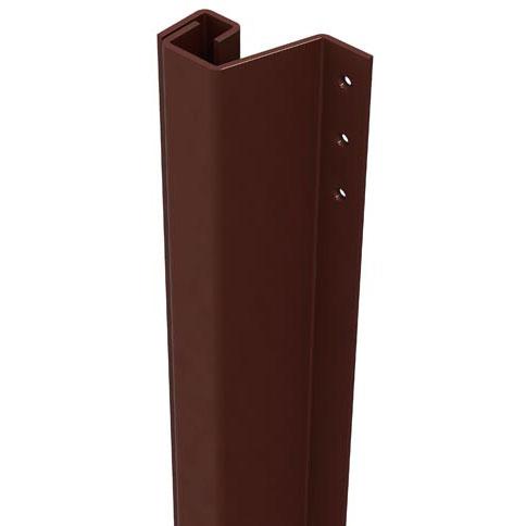 SecuStrip Anti-Inbraakstrip Plus, Achterdeur, Bruin, 2300 mm, terugligging 21-27 mm
