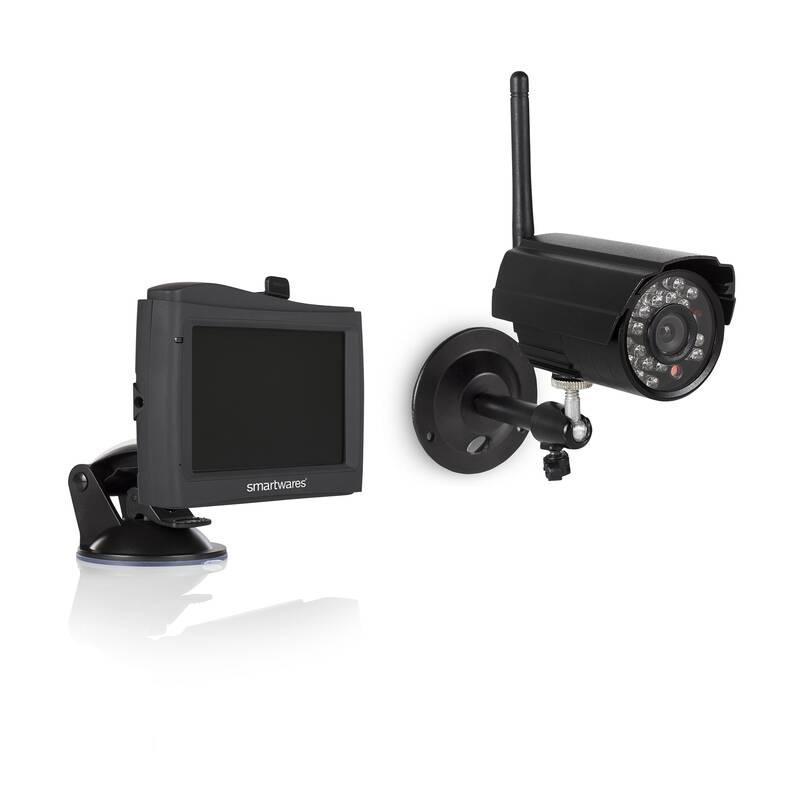 Draadloze bewakingscamera set Met 1 camera CS80DVR