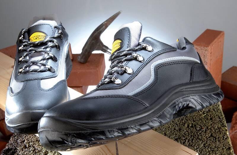 Veiligheid en werkschoenen S1P zwart/grijs maat 45