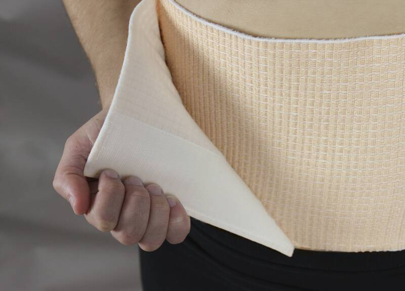 Nierenverwarmer met steunfunctie Sterk taille 75 - 150 cm