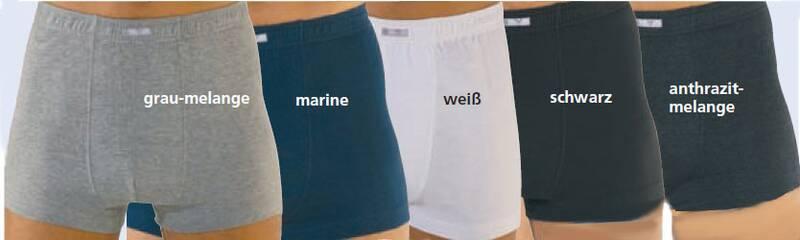 Boxershort marineblauw maat 10