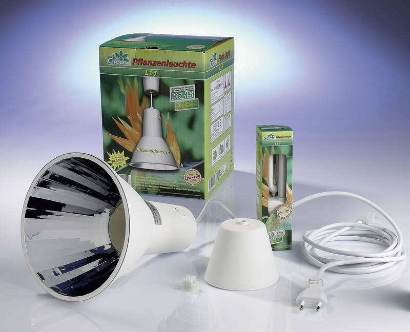 Groeilamp incl. spaarlamp L 15 14 watt