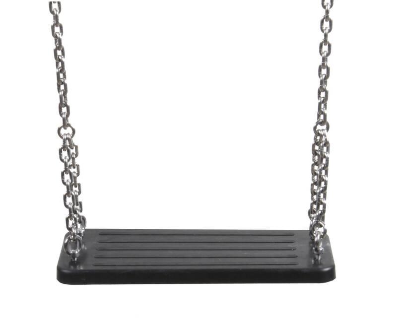 Schommelzitje rubber ketting verzinkt 2,0m