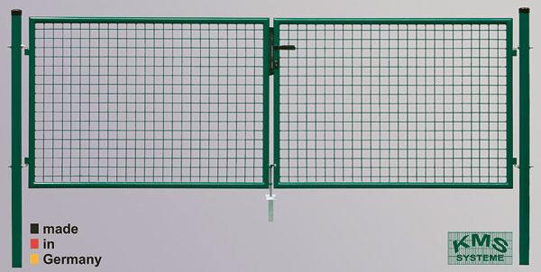 Garten Doppeltor| je Flügel 200 cm breit| 175 cm hoch| grün RAL 6005 | Baumarkt > Modernisieren und Baün > Tore | KMS