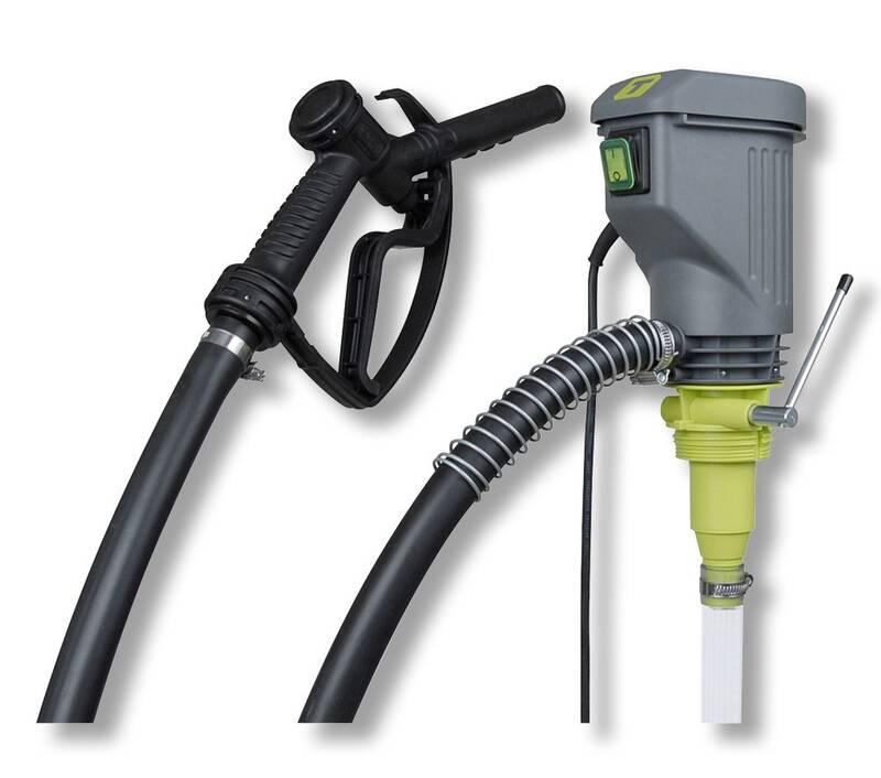W40 Elektrische Vatpomp, Dieselpomp Met Aftappistool 1600 Mm 38 L/Min