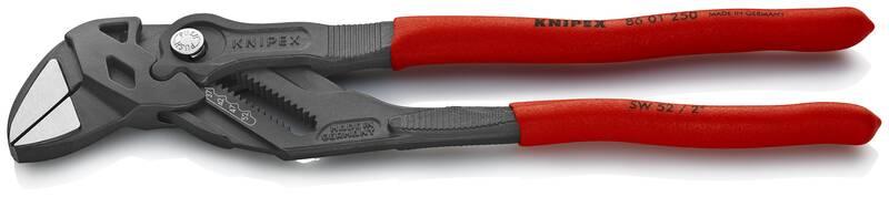 Verstelbare Sleuteltang Grijs geatramenteerd, 52mm, 250mm