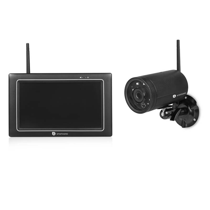 Kabellose HD Überwachungssystem mit Kamera und 7 Touchscreen Monitor