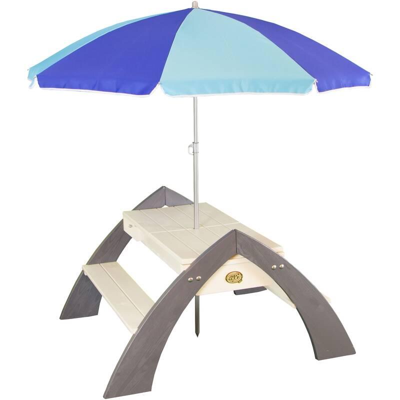 zand- en water Picknicktafel Delta, met parasol