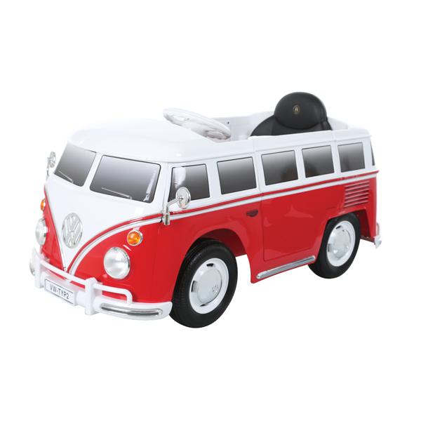 E-Car VW Bus Rood