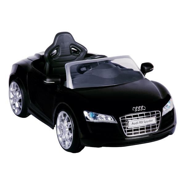 E-Car Audi R8 zwart met afstandsbediening