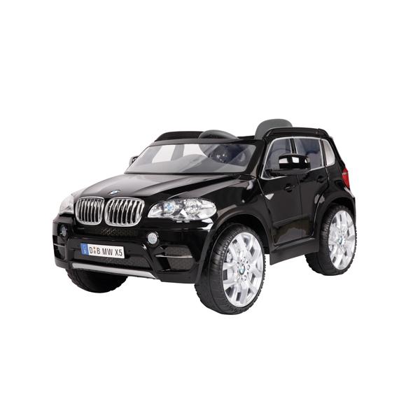 E-Car BMW X5 zwart met afstandsbediening