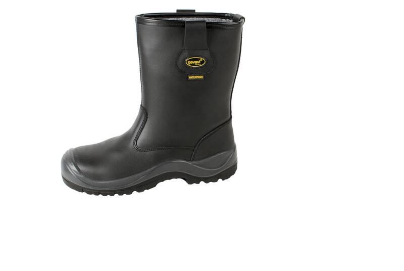 Veiligheidslaarzen S3 zwart maat 47