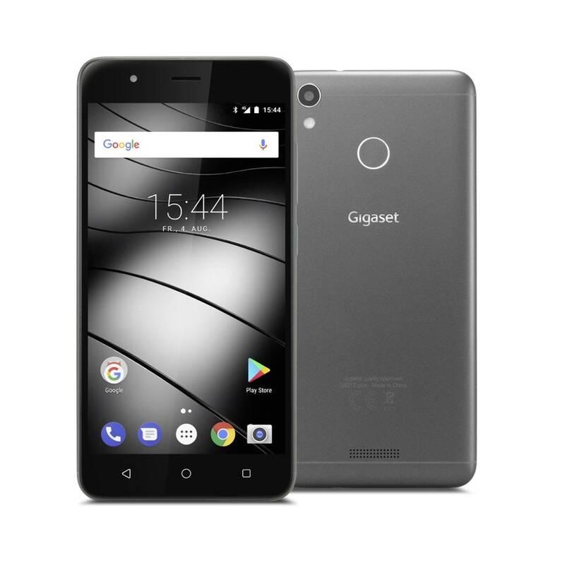 GS 270plus mit 5,2 Full HD Display, Fingerabdruck Sensor und 13 MP Kamera + GRATIS Smartphonetasche mit LED