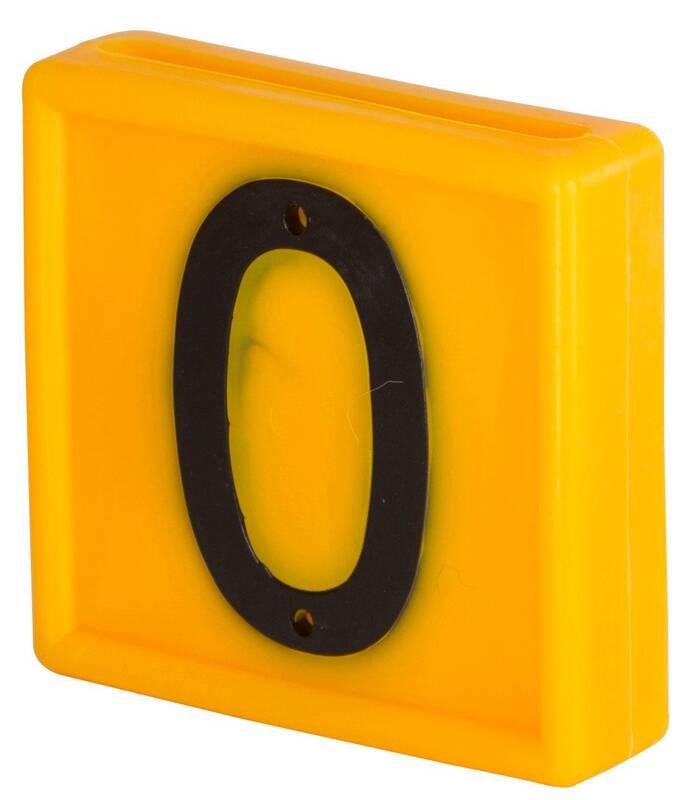 Nummer 1 für Markierungsbänder