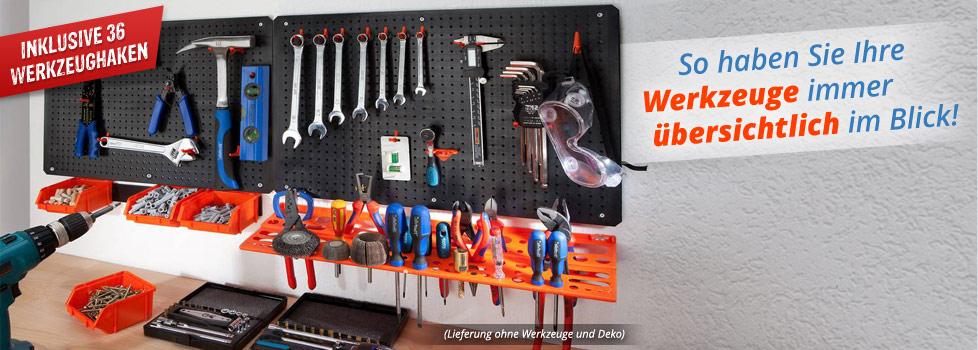 Werkzeugwand 2 teilig