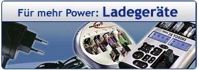 Für mehr Power: Ladegeräte