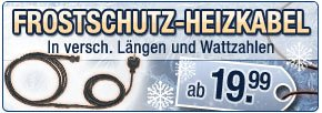 Frostschutz Heizkabel