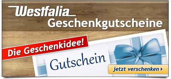 Westfalia Geschenkgutscheine - Die Geschenkidee!