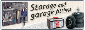 Storage and garage fittings