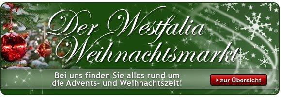 Weihnachtsmarkt bei Westfalia